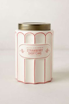 Strawberry Shortcake #candle Packaging Anthropologie - Boulangerie Jar, Tall