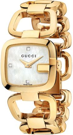 Gucci watch  | More bling here: http://mylusciouslife.com/photo-galleries/bling-fling/