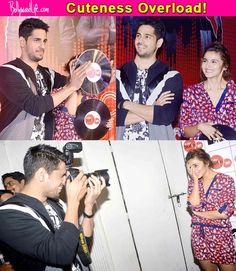 How adorable do Alia Bhatt and Sidharth Malhotra look together at a promotional event? View pics! #AliaBhatt  #SidharthMalhotra