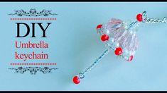 DIY mini umbrella | How to make umbrella keychain | Tutorial