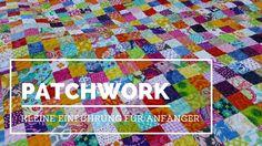 Quiltmanufaktur-Blog: Patchwork - Wie geht das? Eine kleine Einführung für Anfänger / Teil 1