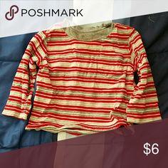 Striped long sleeve shirt Kids long sleeve shirt Faded Glory Shirts & Tops Tees - Long Sleeve
