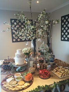 Afternoon Tea Party, rustic theme