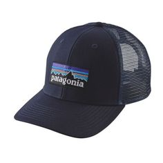 951a0552 Blue Ridge Mountain Outfitters - Patagonia P-6 Trucker Hat - Navy Blue,  $29.00