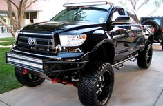 Toyota Jacked Up Truck