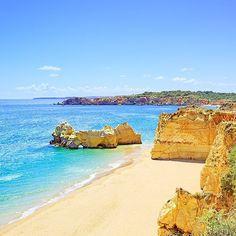 Praia da Rocha, Portugal.