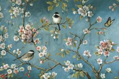 Bird Wallpaper & Wall Murals Photowallcouk - Bird wallpaper coverings uk