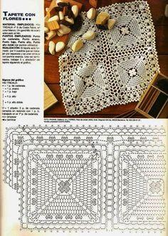 Kira scheme crochet: Scheme crochet no. 3330