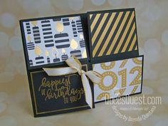 Masculine Birthday Cards, Handmade Birthday Cards, Handmade Cards, Fancy Fold Cards, Folded Cards, Card Templates, Stampin Up, Card Making, Paper Crafts