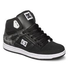 dcshoes, Rebound High SE Shoes, WHITE/BLACK (wbk)