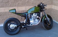 GL 500 Cafe Fighter from a Silverwing via Invasion Kustoms