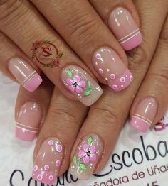 Manicure Colors, Manicure And Pedicure, Cute Nails, Pretty Nails, Gold Glitter Nails, Girls Nails, Nail Arts, Spring Nails, Nail Art Designs
