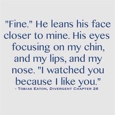 Marry me Tobias <4 ~Divergent~ ~Insurgent~ ~Allegiant~ I literally die every time I read this