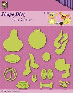 SDL047 Shape Dies Lene animals Marianne Design, Shapes, Album, Handmade Cards, Animals, Home, Craft Cards, Animales, Animaux