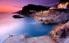 ponta do sol | Fondo de pantalla Ponta do Sol (Punta del Sol) en la isla de Madeira