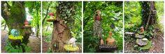 Whimsical fairy forest at Bunratty Castle & Folk Park. Ireland travel tips   Ireland vacation  IrelandFamilyVacations.com