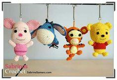 Free Tigger Amigurumi Pattern : Pooh bear piglet eeyore and tigger free crochet patterns free