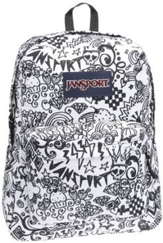 JanSport Classic SuperBreak Backpack.  $48.00            Boasting a sturdy 600-denier polyester construction and a stylish exterior, the JanSport SuperBreak backpack easily and comfortably carries your gear for years to come. The utilitarian pack offers a single main compartment and a front pocket with an organizer, giving it en...