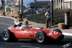 Ferrari Dino 246 F1,P Hill.