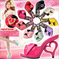 Heart Heel Hime Gyaru Japanese Fashion