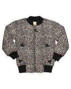 Baby jacke leopard