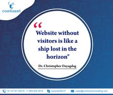 Website without visitors is like a ship lost in the Horizon - Dr. Content Marketing, Internet Marketing, Online Marketing, Social Media Marketing, Digital Marketing, Basic Website, Custom Website, Social Media Page Design, Competitor Analysis