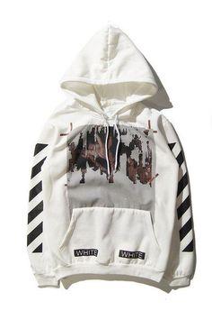 OFF WHITE C/O Hoodies Men Women Brand Clothing Religious Outerwear Coats Hip Hop Skateboard PALACE VLONE Male Hooded Sweatshirts