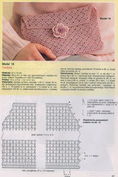 Crochet: 3 MODELS WITH CHARTS