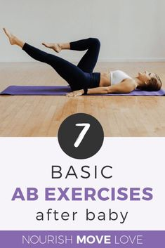 7 Exercises for Postpartum Recovery +Diastasis Recti Are you wondering about the best post-baby ab workouts? Grab this best post-pregnancy ab workout to help you get fit after baby! Pregnancy Abs, Post Pregnancy Workout, After Pregnancy, Post Baby Abs, Belly After Baby, Diastasis Recti Exercises, Postpartum Recovery, Abs Workout For Women, Mom Workout