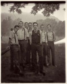 suspenders. photo by Richard Israel