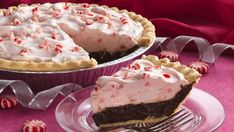 This gorgeous pie is a snap to prepare when you bake a frozen pie crust, fill it and chill it.
