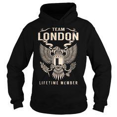 Team LONDON Lifetime Member - Last Name, Surname T-Shirt