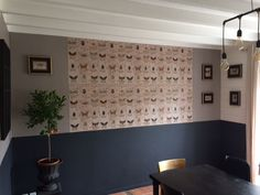 papier peint grigri maison caumont oranger d'intérieur