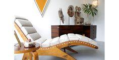 Zanine (José Zanine Caldas) Chaise longue 50's