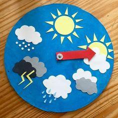 Toddler Learning Activities, Craft Activities For Kids, Classroom Activities, Preschool Activities, Teaching Kids, Crafts For Kids, Arts And Crafts, Diy Crafts, Weather For Kids