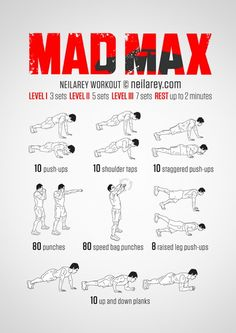 Mad Max Workout