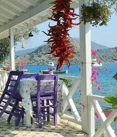 Pazar kahvaltımızı burada yapalım mı?  Masa 3 kişilik biri sizsiniz, diğer 2 kişi ?  #selimiye #marmaris #breakfast #pazar #kahvaltı #doğa #huzur #aşk #tatil #turizm #sahil #manzara #cennet #seyahat #turkey #türkiye #muğla # Turkey Destinations, Domestic Destinations, Beautiful Streets, Beautiful World, Most Beautiful Beaches, Beautiful Places, Romantic Places, Marmaris Turkey, Turkey Places