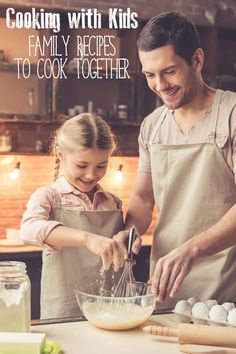 Get your kids into the kitchen and teach them life skills with these family favourite recipes that you can really cook with kids. via @rainydaymum