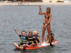 This is exactly what i do with all my kids. Unless they want to paddle...