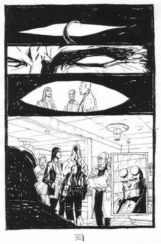alex Maleev - Hellboy Weird Tales Comic Art