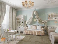 Фото: Детская комната - Двухуровневая квартира в неоклассическом стиле, ЖК «Жилой дом на Пионерской», 208 кв.м.
