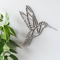 Buy the Geometric Hummingbird Wall Art - Poplar from our stunning Wall Décor collection at Red Candy, the home of quirky decor! Hummingbird Wallpaper, Hummingbird Drawing, Hummingbird Tattoo, Hummingbird Quotes, Hummingbird Cupcakes, Hummingbird House, Hummingbird Food, Watercolor Hummingbird, 3d Wall Decor