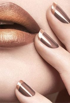 French Nail Art designs are minimal yet stylish Nail designs for short as well as long Nails. Here are the best french manicure ideas, which are gorgeous. Pretty Nail Designs, Nail Art Designs, French Nails, French Polish, Cute Nails, Pretty Nails, Hair And Nails, My Nails, Uñas Fashion