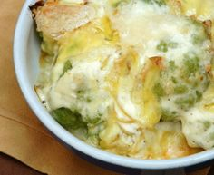 Tartiflette von Blumenkohl in Saint-Marcellin Healthy Crockpot Recipes, Meat Recipes, Healthy Dinner Recipes, Vegetarian Recipes, Cooking Recipes, Healthy Dinners For Two, Good Food, Yummy Food, Queso