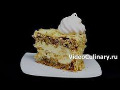 Kiev Cake, Cake Youtube, Homemade Cakes, Sweet Life, Vanilla Cake, Baked Goods, Cooking Recipes, Cooking Ideas, Deserts