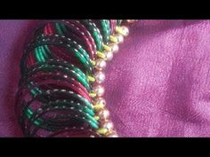 Aadi Pooram | Bangles Garland | #1 How To Make Garland, Garland Making, Baby Shower Decorations, Flower Decorations, Rakhi Design, Marriage Decoration, Thread Jewellery, Flower Garlands, Festival Decorations