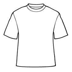 Tee-rrific T-shirt Template and Blank Template | Pinterest ...