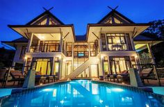 Boasting a hillside villa with unobstructed ocean views of the North West coast of Koh Samui, VMP - Ban Tai Ocean View Villa comes with a private infinity. Hillside Villas, Ocean View Villas, Infinity Edge Pool, Garden Villa, Romance, Painting Services, Beach Villa, Koh Samui, Samui Thailand