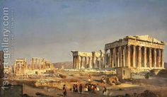"Some of the most famous buildings of antiquity (Parthenon, Erechtheum, and others) were built, after 450 BC, in the Acropolis (""high city""). Athens Acropolis, Parthenon, Athens Greece, Greece Pictures, Old Pictures, Most Famous Paintings, Famous Buildings, Animal Habitats, Italian Painters"