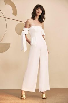 CHARGED UP JUMPSUIT ivory